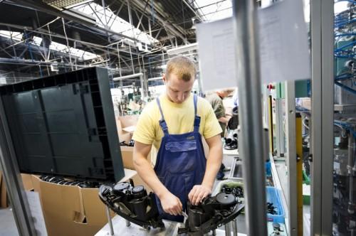 Praca Niemcy produkcja